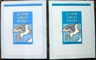 3RD GRADE 3 READER JUNIOR GREAT BOOKS VOL 1 & 2 Read Aloud English