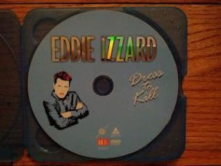 Cent CD Eddie Izzard Dress to Kill DVD Disc Only DVD Disc Only DVD