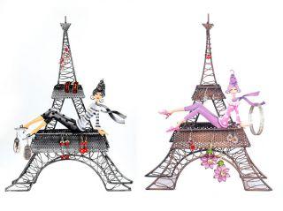 SLC Ooh La La Eiffel Tower Jewelry Organizer Jewelry Holder Stand