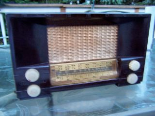 Emerson Vintage Radio Model 556 Series B AM FM Parts Restoration