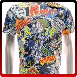 M249W Minute Mirth Sz M L T Shirt Tattoo Skull Skate Surf Board