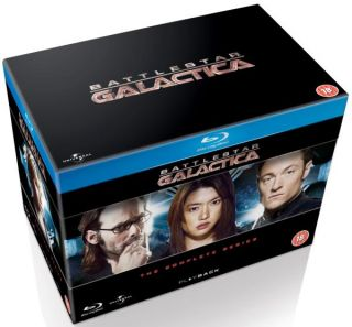 NEW Battlestar Galactica The Complete Series 20 Disc Set Blu Ray