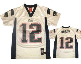 Tom Brady New England Patriots NFL Jersey Boys Kids Youth New