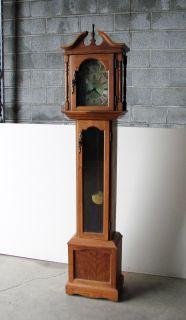 Emperor Hermle Grandfather Clock Black Forest Vintage