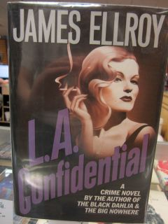 Confidential by James Ellroy 1990 Hardcover with Dust Jacket First