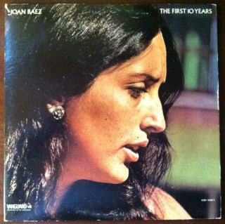 Joan Baez The First 10 Years Vanguard VSD 6560 1 w Picture Book VG