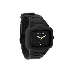 Nixon The Rubber Player Mens Diamonds Stainless Steel Case Watch A139