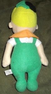 Toy Factory Plush Elroy Jetson Plush Boy George Jetsons Son VGC