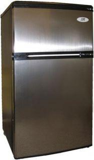 Double Door Refrigerator Stainless Fridge Energy Star
