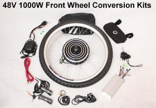 48V 1000W Electric Bicycle E Bike Retrofit Kits New 2012 New Style
