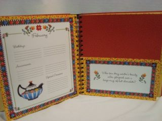 Mary Engelbreit Greeting Card Organizer & Address Book   NEW
