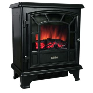 DURAFLAME Electric Fireplace Heater Stove Classic Black