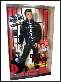 Elvis Presley Jailhouse Rock Ken Barbie Pop Culture Fashion Doll Pink
