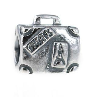 Genuine Pandora Sterling Silver Suitcase Charm 790362