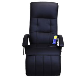 New Electric Massage Chair Ergonomic Recliner PU Leather Heat