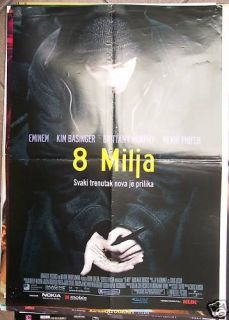 Mile Eminem Kim Basinger Croatian Movie Poster 2002