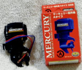 Mercury Electric Outboard Motor A for Model Boats New in Box