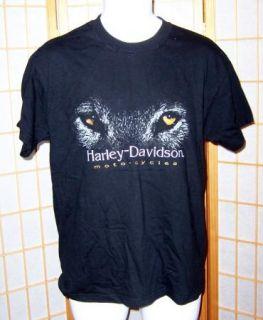 Harley Davidson Sz M Black Mid America HD Columbia Missouri MO T Tee
