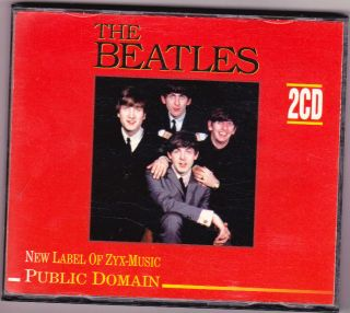 The Beatles Public Domain ZYX Music RARE CD