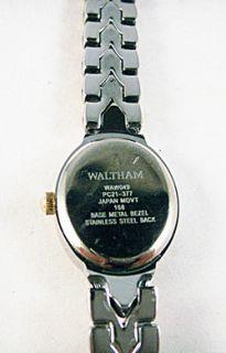 RARE Waltham Embassy Watch with An Abalone Shell Face Beautiful 2 Tone