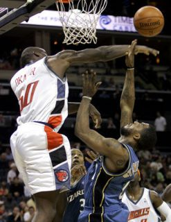 Authentic Reebok Charlotte Bobcats Emeka Okafor Jersey NBA Game Jordan