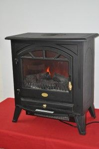 Charmglow Electric Fireplace Stove Heater Model HBL 15SDLPM20 Item