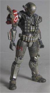 halo reach emile play arts kai action figure 10393 imported from japan