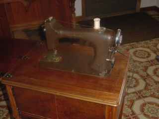 Vintage sewing machine Improved Eldredge Rotary