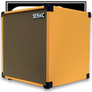 Orange Tolex Guitar Speaker Cabinet Empty 1x12 Cube Cab