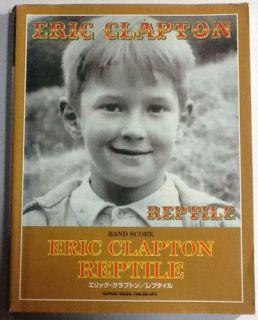 Eric Clapton Reptile Band Score Japan Guitar Tab