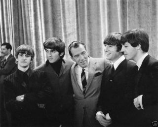 The Beatles Ed Sullivan Show 8x10 Music Memorabilia