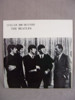 Beatles Ed Sullivan Show Album Record LP 1964
