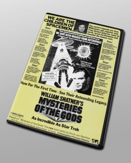 Mysteries of The Gods Erich Von Däniken Shatner Ancient Aliens Wide