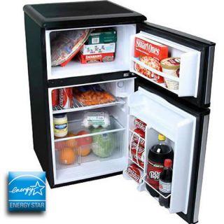 Refrigerator & Freezer, Double Door Stainless Steel Energy Star Fridge
