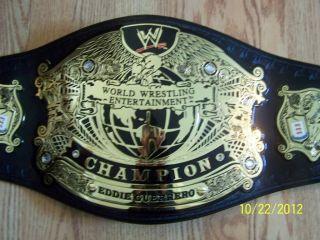 WWE Eddie Guerrero Championship belt