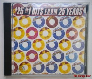 25 #1 Hits From 25 Years Volume II Music CD Motown Stevie Wonder