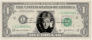 Eddie Money Dollar Bill Mint Real $$ Celebrity Novelty Collectible