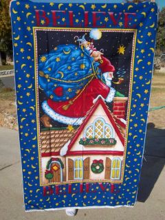 Mary Engelbreit Fabric Christmas Door Panel