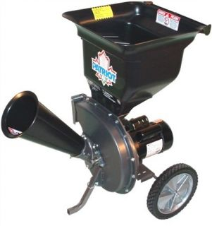 New Patriot 1 5 HP Electric Wood Chipper Leaf Shredder