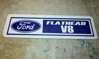 Ford engine number sign FLATHEAD V8