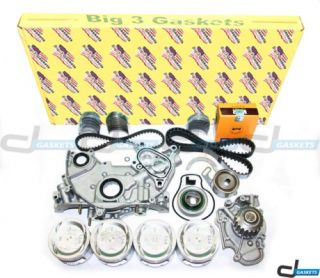 Honda Accord Odyssey 2 2L 16V Overhaul Engine Kit F22B2