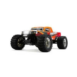Electrix Ruckus 1/10 Electric RTR Monster Truck Orange w/2.4GHz, Batt