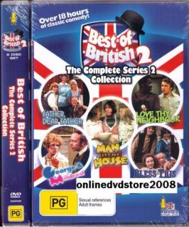 Best of British Complete TV Series 2 Classic Comedy 6 DVD Boxset New