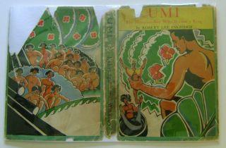 Umi by Robert Lee Eskridge Hawaii Signed 1st Edn HBwDJ