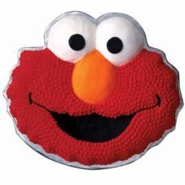 WILTON Elmo Face cake pan #2105 3461 good for birthday sesame street