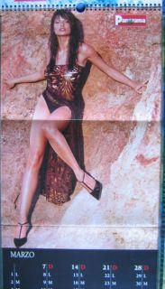 Calendar Sexy Natalia Estrada Calendario Panorama 1999