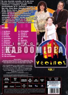 Vecinos Vol 1 Boxset 4 DVD Imported Serie Mexico 4DVDS