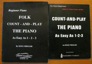 DOUG FREULER Beginner Piano Books Count And Play The Piano As Easy