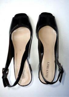 Popular Designer Ellen Tracy Black Heels Womens Shoes