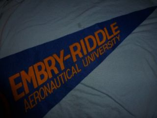 Pennant USAF Air Force ROTC Embry Riddle Aeronautical University Late